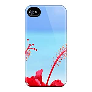 OeQnSDQ1494JxgrR Richavans Awesome Case Cover Compatible With Iphone 4/4s - Pretty Red