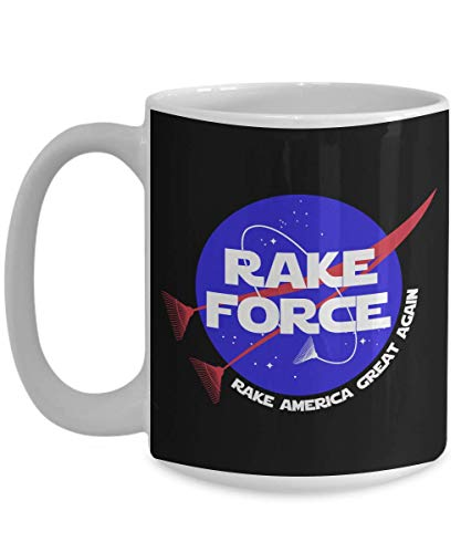 Rake Force Raking America Great Again Gift Gift Coffee Mugs ()