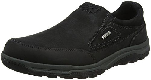 Slipon Mocassini Uomo Nero Trail Rockport Technique Waterproof wOqxtn1S
