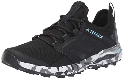 adidas outdoor Terrex Speed Ld Womens Trail Running Shoes, Black/Non-Dyed/Ash Grey, 7