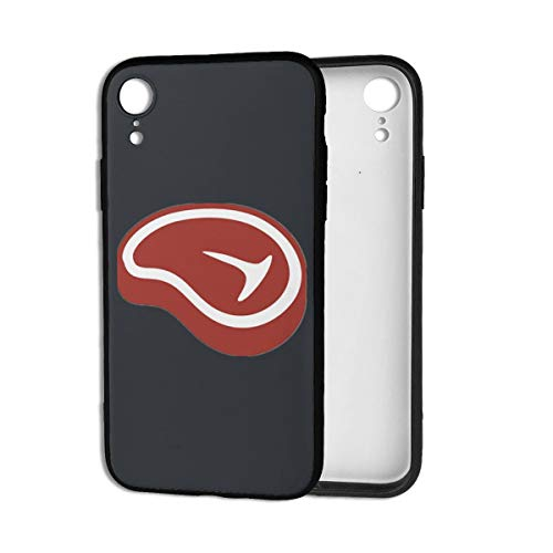 Beef Steak T Bone Steak Case for iPhone XR Mens iPhone XR Cases for Women Girls Men