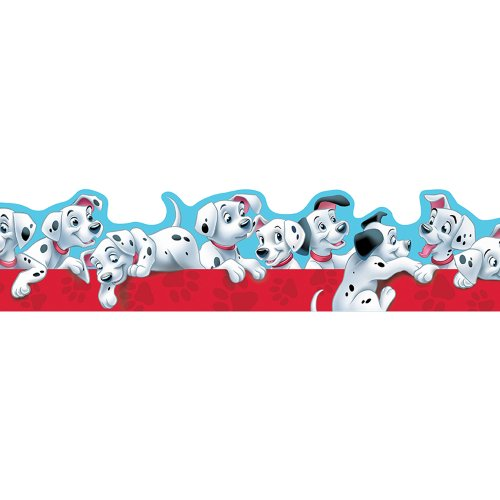 Eureka 101 Dalmatians Puppies Extra Wide Cut Deco Trim
