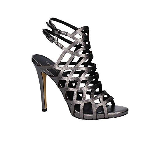 Liu-Jo S17001P0045 Sandalen mit Absatz Frauen Silber