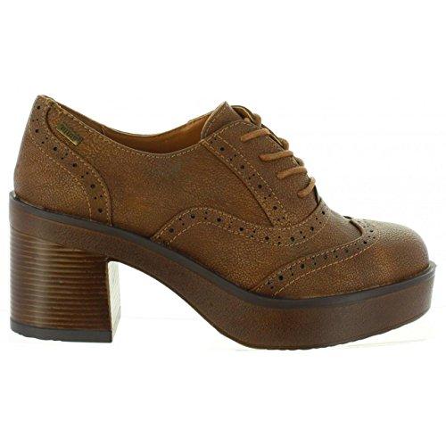 Schuhe ferse für Damen MTNG 50759 C30808 LONG TAN