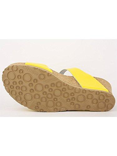 Sandalo Ciabatta Mephisto Giallo Lidia Vernice f75wcEwq