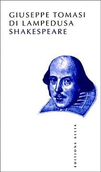 Shakespeare par Tomasi di Lampedusa