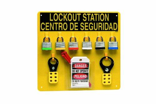 Brady LC211G Prinzing Lockout Center Bilingual (1 Each) by Brady