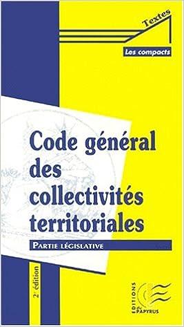 Code général des collectivités territoriales, partie législative, volume 2 pdf, epub ebook