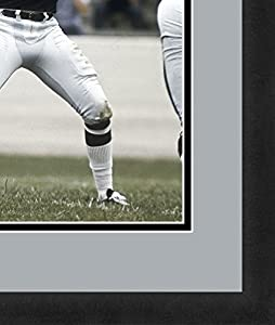 "NFL Oakland Raiders Ken Stabler, Beautifully Framed and Double Matted, 18"" x 22"" Sports Photograph"