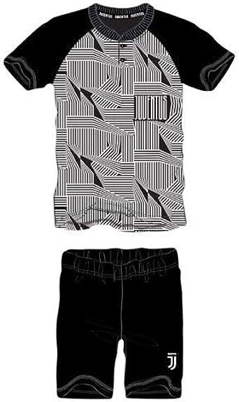 Pijama corto de manga corta + pantalón corto Juventus FC ...