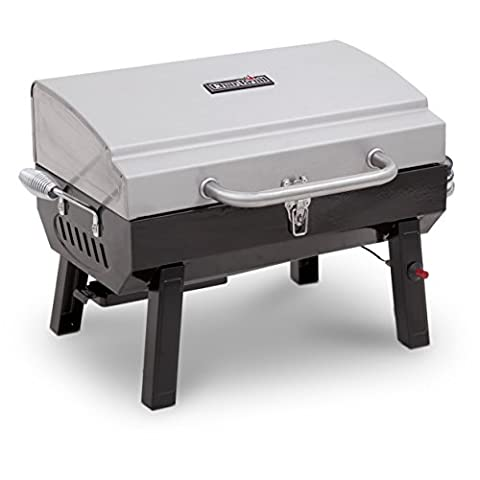 Char-Broil Stainless Steel Portable Gas Grill - Deluxe Natural Gas Grill