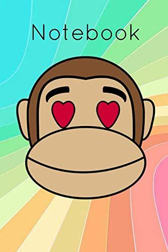 Notebook: Jungle Monkey Gorilla Homework Book Composition