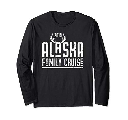 Matching Alaska Family Cruise 2019 Long Sleeve Shirt Antlers