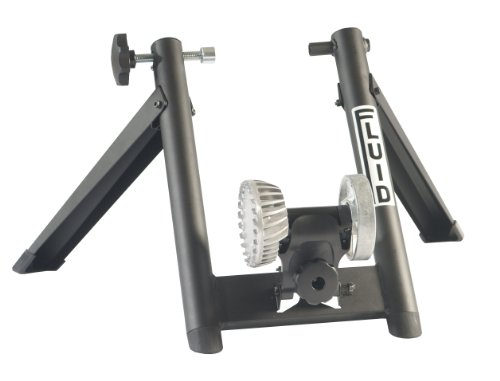 Graber Fluid Trainer Bike, Black