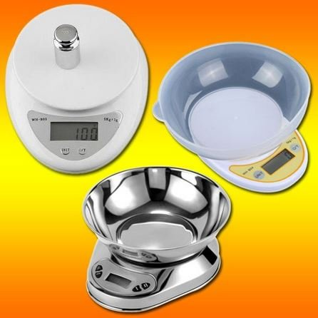 5000g/1g 5kg Food Diet Postal Kitchen Digital Scale scales balance weight weighting LED electronic - 7