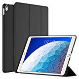 JETech Case for iPad Air 3 10.5-Inch (3rd Generation 2019 Model, Smart Cover Auto Wake/Sleep, Black