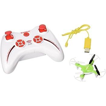 87fae58c024 Amazon.com: SYMA X12S Green 4CH 2.4G Nano Quadcopter: Toys & Games