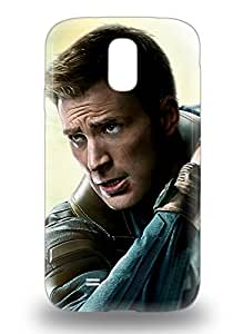 For Galaxy S4 Tpu Phone 3D PC Case Cover Hollywood Captain America The Winter Soldier Sci Fi Adventure Action ( Custom Picture iPhone 6, iPhone 6 PLUS, iPhone 5, iPhone 5S, iPhone 5C, iPhone 4, iPhone 4S,Galaxy S6,Galaxy S5,Galaxy S4,Galaxy S3,Note 3,iPad Mini-Mini 2,iPad Air )