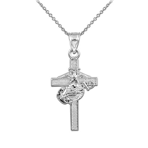 925-sterling-silver-us-marine-corps-medium-military-cross-pendant-necklace