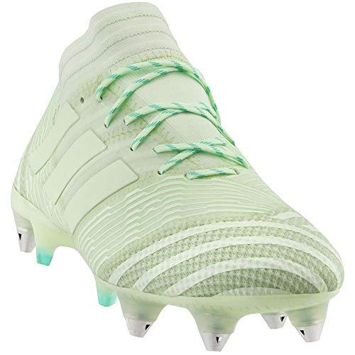 adidas Mens Nemeziz 17.1 Soft Ground Soccer Athletic Cleats, Green, 8.5 (Adidas Cleats Green)