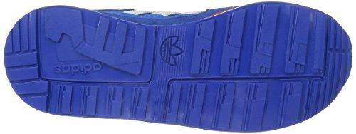 adidas M19740 - Zapatillas de Running de Material Sintético Niño - Multicolor (Croyal/Ftwwht/Ftwwht)