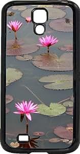 funda rigida Samsung Galaxy S4 lilies on purple bed