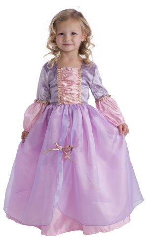 Little Adventures Deluxe Rapunzel Princess Dress Up Costume Size Small Age 1-3