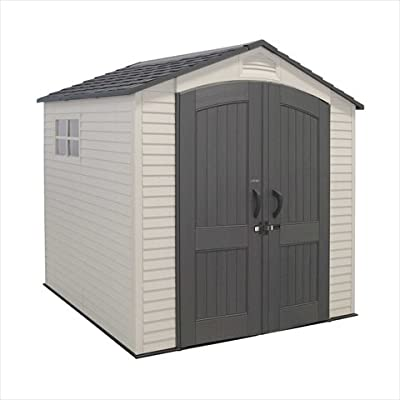 Outdoor Shed 7x7 Two Windows
