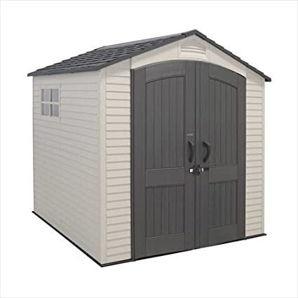 Lifetime Products 7u0027X7u0027 Outdoor Storage Shed