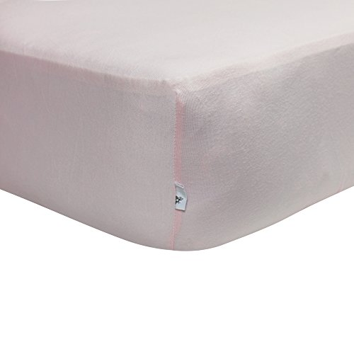 Burt's Bees Baby Jersey Fitted Crib Sheet- Blossom