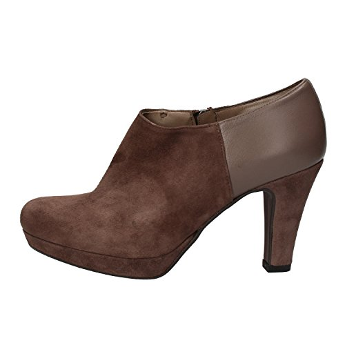 35 Boots Leather Women's Albano Suede Ankle EU Brown US 5 AvP0wU