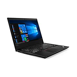Oemgenuine Lenovo ThinkPad E490 Laptop Computer 14 Inch FHD Display 1920×1080, Intel Quad Core i5-8265U, 8GB RAM, 250GB Solid State Drive, W10P