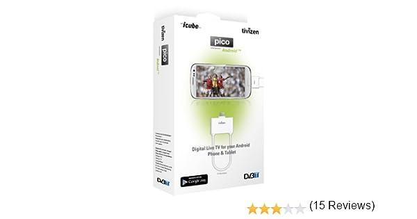 Tivizen TIPIAND - Receptor de TDT para Smartphone o tablet, Blanco: Amazon.es: Electrónica