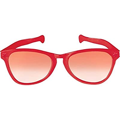 Red Jumbo Eyeglasses, Party Accessory: Toys & Games