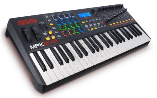Akai Professional MPK249 | 49-Key Semi-Weighted USB MIDI Keyboard Controller Including Core Control From The MPC Workstations