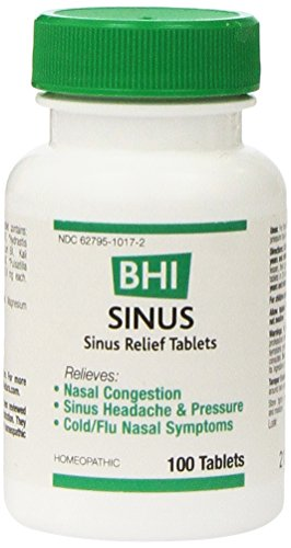 BHI Sinus Relief Tablets 100 Ct