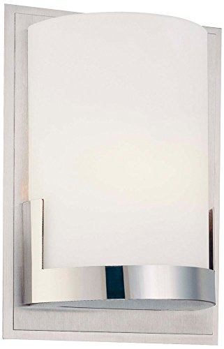 Convex Wall Mount (George Kovacs P5951-077, Convex, 1 Light Wall Mount, Brushed Aluminum)