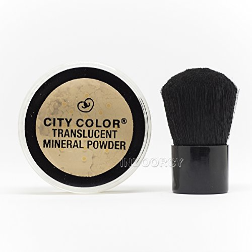City-Color-Translucent-Mineral-Powder-with-Brush-Flawless-2pc-Mineral-Set
