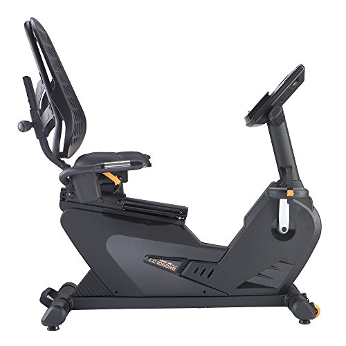 LifeCORE Fitness 1060RB Recumbent Exercise Bike, Black Frame