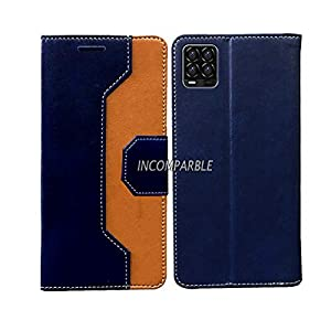 Incomparable Leather Flip Cover with Card Holder for Realme 8