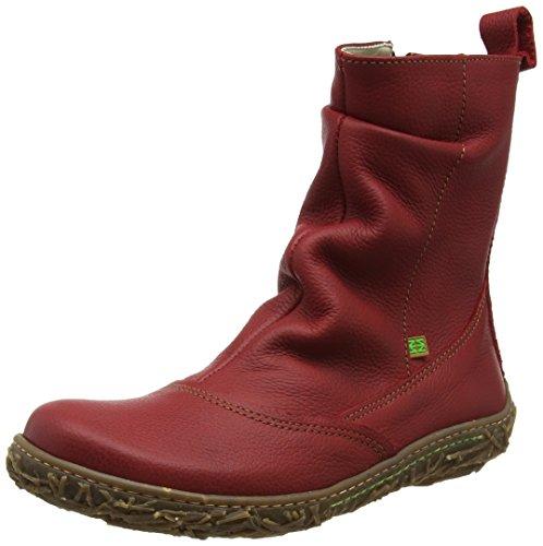 Tibet Tibet Nido Grain Soft Rosso Naturalista Naturalista Naturalista El N722 Stivaletti Donna Pzn8xCwx