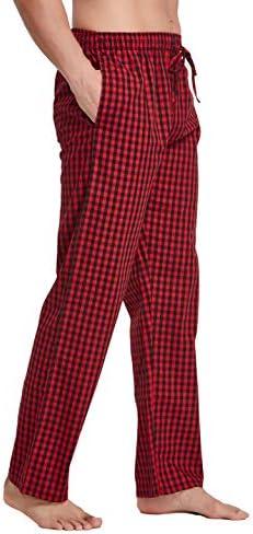 CYZ Mens 100/% Cotton Poplin Pajama Lounge Sleep Pant