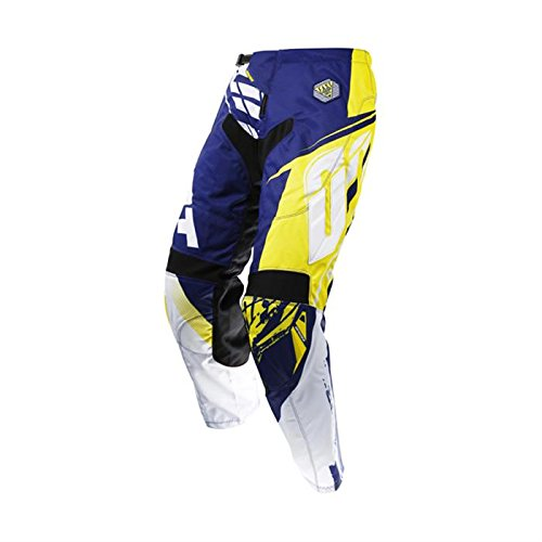 MTB Hose FAST Shot 2017 Herren Motocross blau-gelb