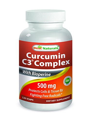 Best Naturals Turmeric Curcumin C3® Complex with Bioperine Veg Capsules