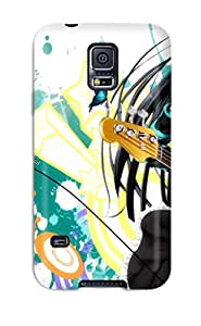 Slim Fit Tpu Protector Shock Absorbent Bumper K-on Case For Galaxy S5