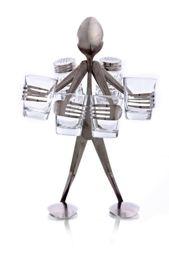 Forked Up Art S46 Tequila Party Spoon Table Topper