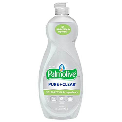 Palmolive Ultra Liquid Dish Soap, Pure and Clear - 32.5 fluid - Palmolive Dishwashing Soap