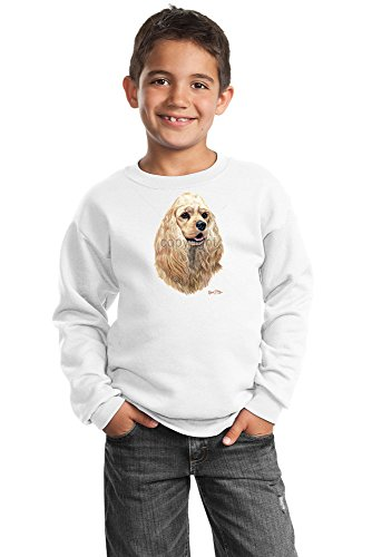 Cocker Spaniel Youth Sweatshirt by Robert May