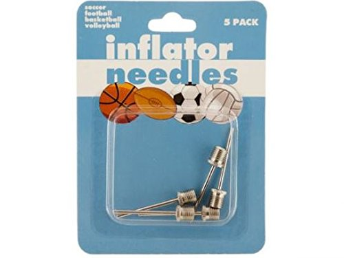 K&A Company Air Ball Inflator Needle Sports Pump Case of 72 by K&A Company