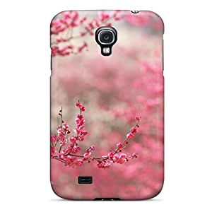 Premium Tpu Pink Buds Cover Skin For Galaxy S4